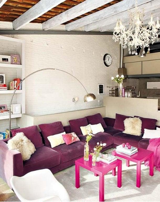 cores-na-decoracao-rosa-e-berinjela-criativa