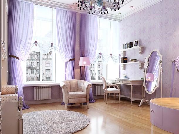 decoracao-roxa-para-quartos