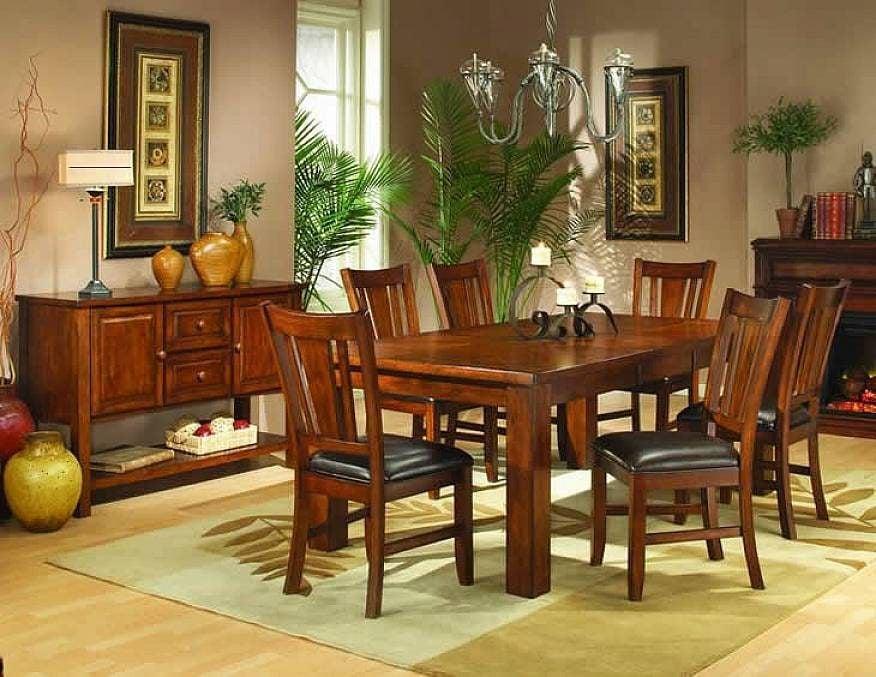 decoracao-com-madeira-mesa
