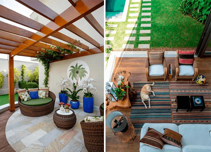 decoracao de area externa com piscina vasos Blog de Decoraç u00e3o e Tend u00eancias Gourmet MONTACASA -> Decoração De Area Externa Pequena
