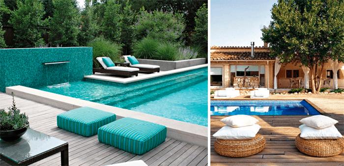 5 ideias para a decoraç u00e3o deárea externa com piscina Blog de Decoraç u00e3o e Tend u00eancias Gourmet  -> Decoracao De Area Externa Com Piscina