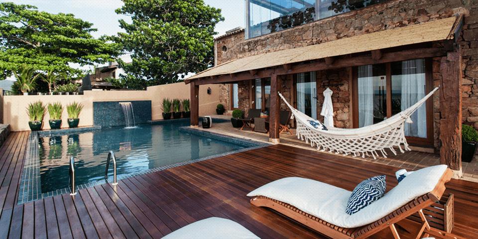 5 ideias para a decora o de rea externa com piscina for Decorar piscina elevada